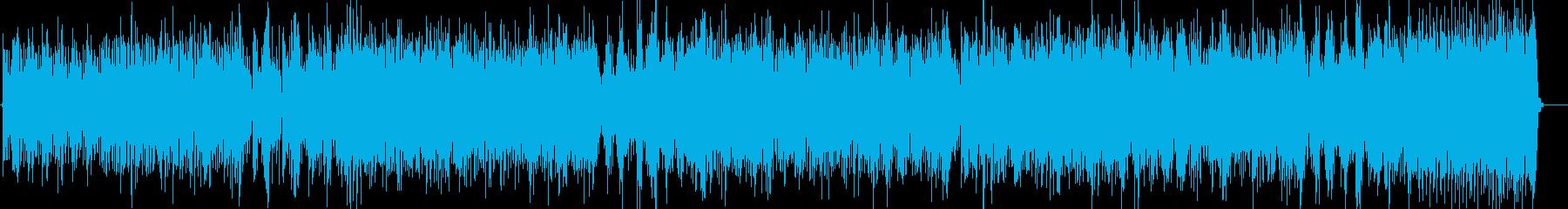 電化マイルスオンザコーナーっぽいファンクの再生済みの波形