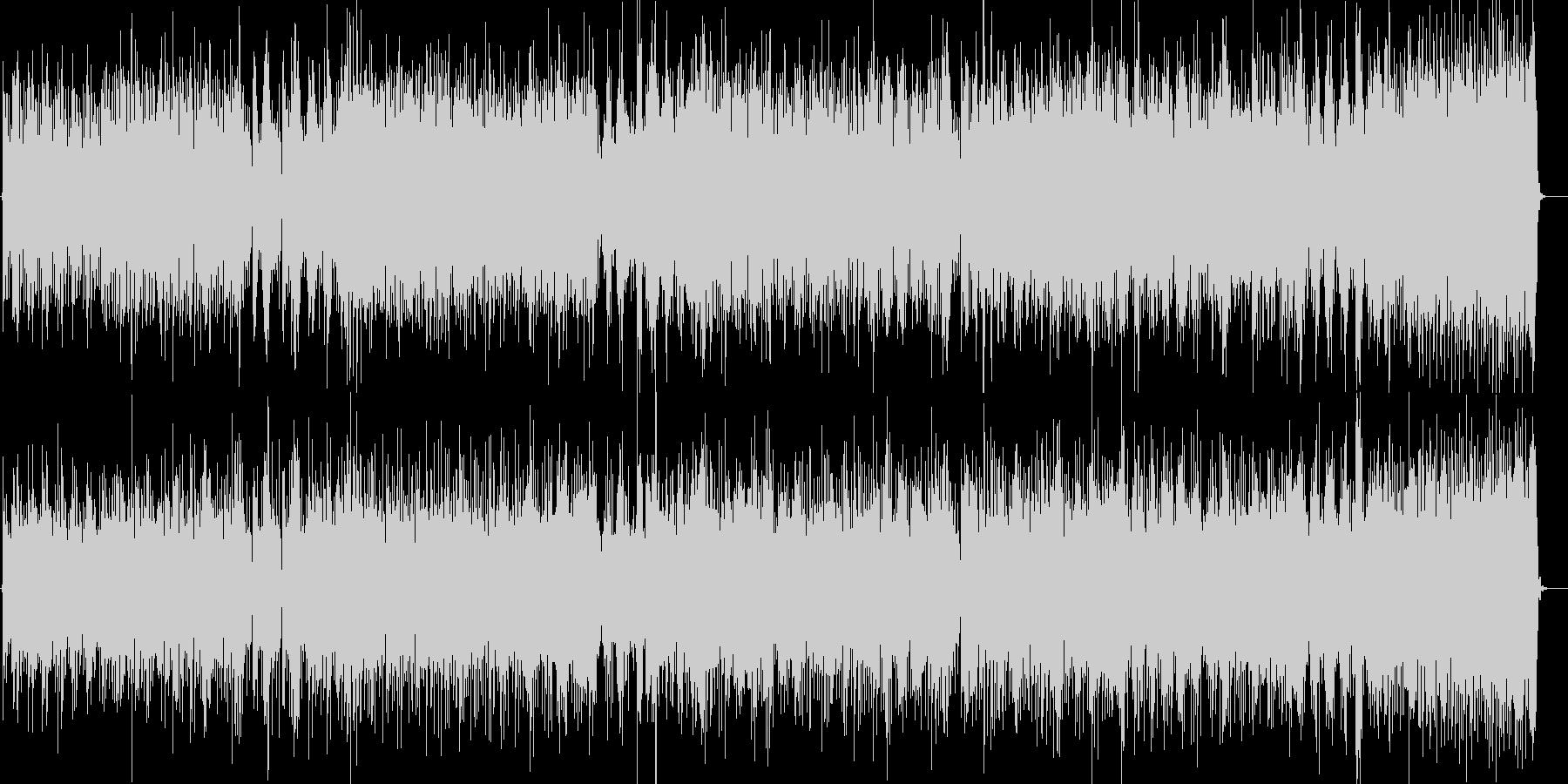 電化マイルスオンザコーナーっぽいファンクの未再生の波形