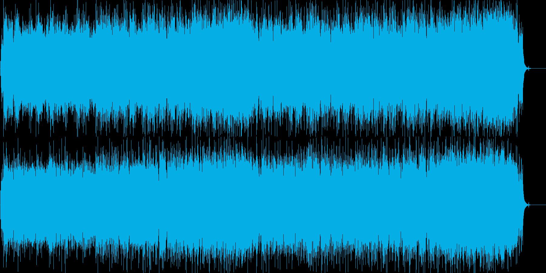 ラブロマンスのオープニング風切ない曲の再生済みの波形