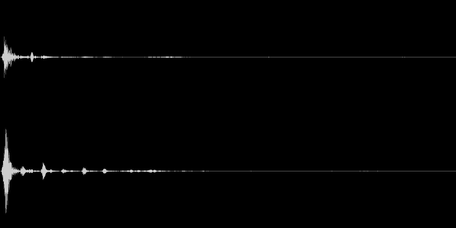 弓矢04の未再生の波形
