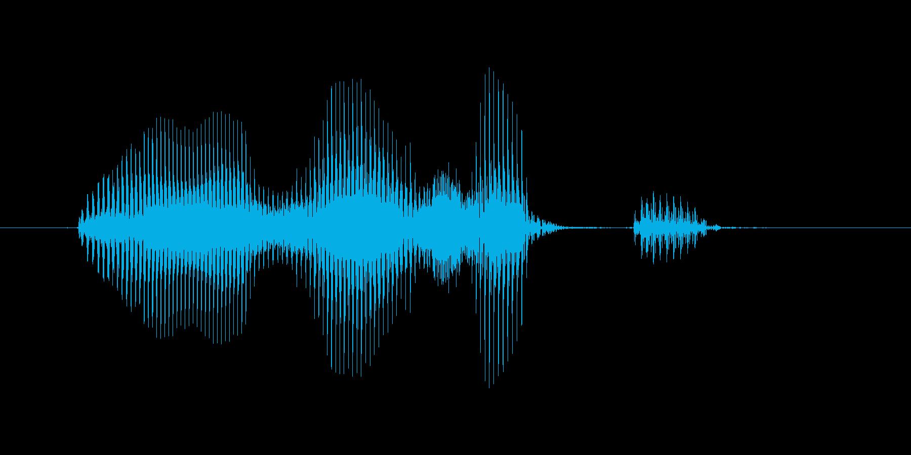 イージーショットの再生済みの波形