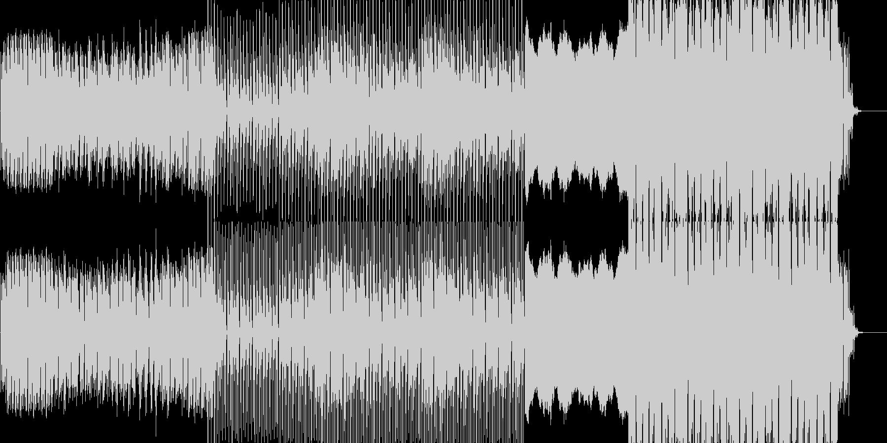 幻想的でパワフルな曲です。ピアノをメイ…の未再生の波形