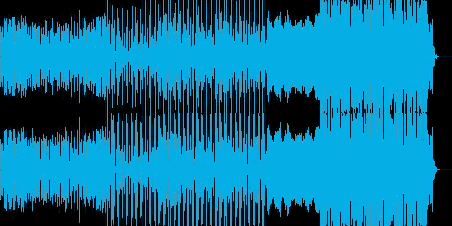幻想的でパワフルな曲です。ピアノをメイ…の再生済みの波形