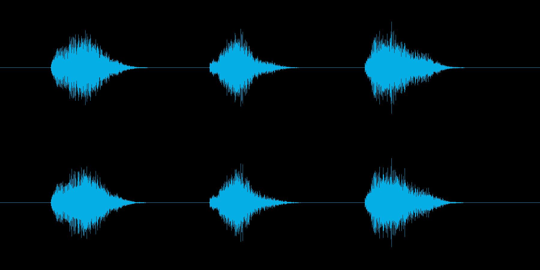 ゲーム等、開始前カウント(3-2-1)Fの再生済みの波形