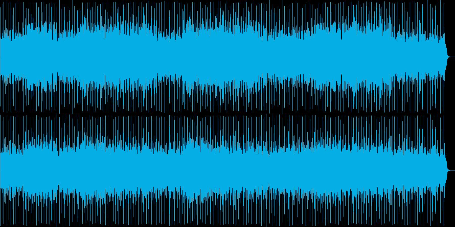 リズミカルで洗練された和風ロックの再生済みの波形