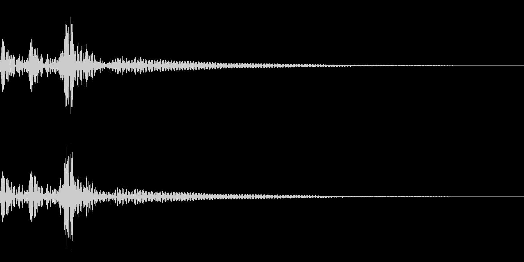 決定 和風04の未再生の波形