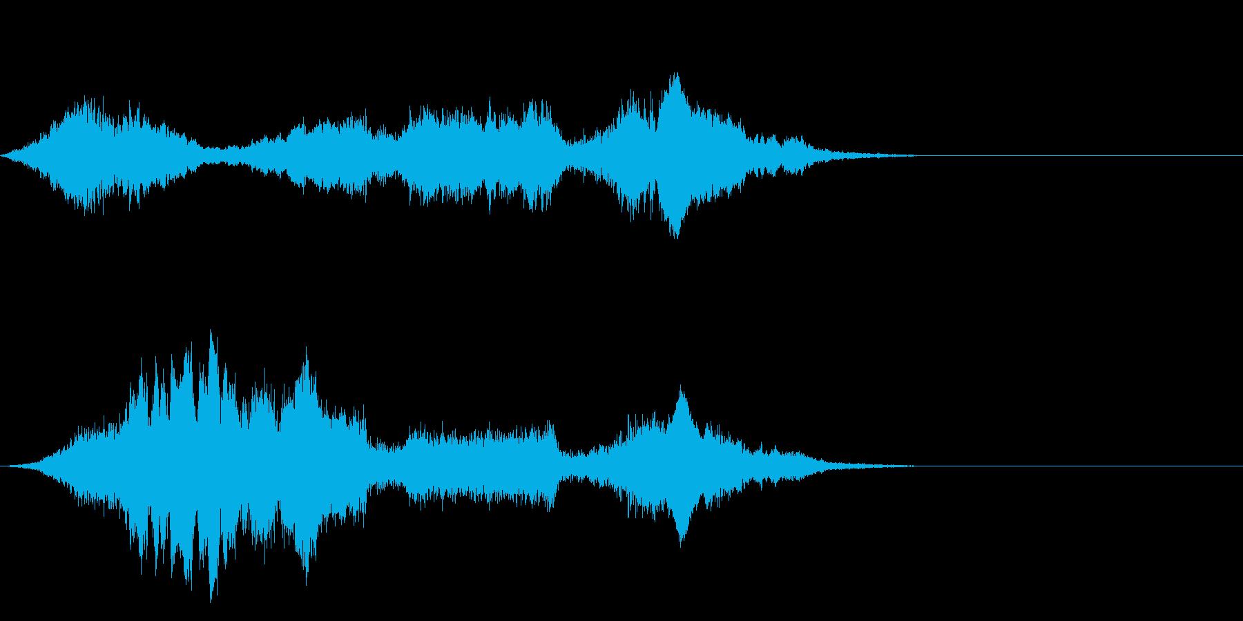 F1などのレース、エンジン音に最適!20の再生済みの波形