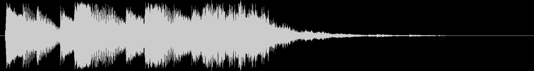 ジングル2 / ピアノ / サウンドロゴの未再生の波形