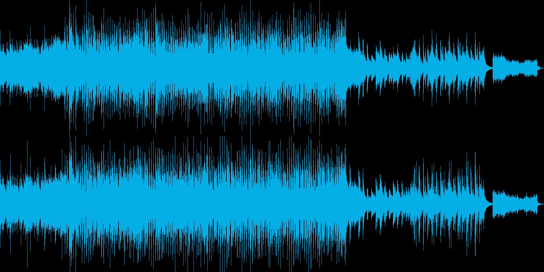クラシックアレンジのウエディング曲の再生済みの波形