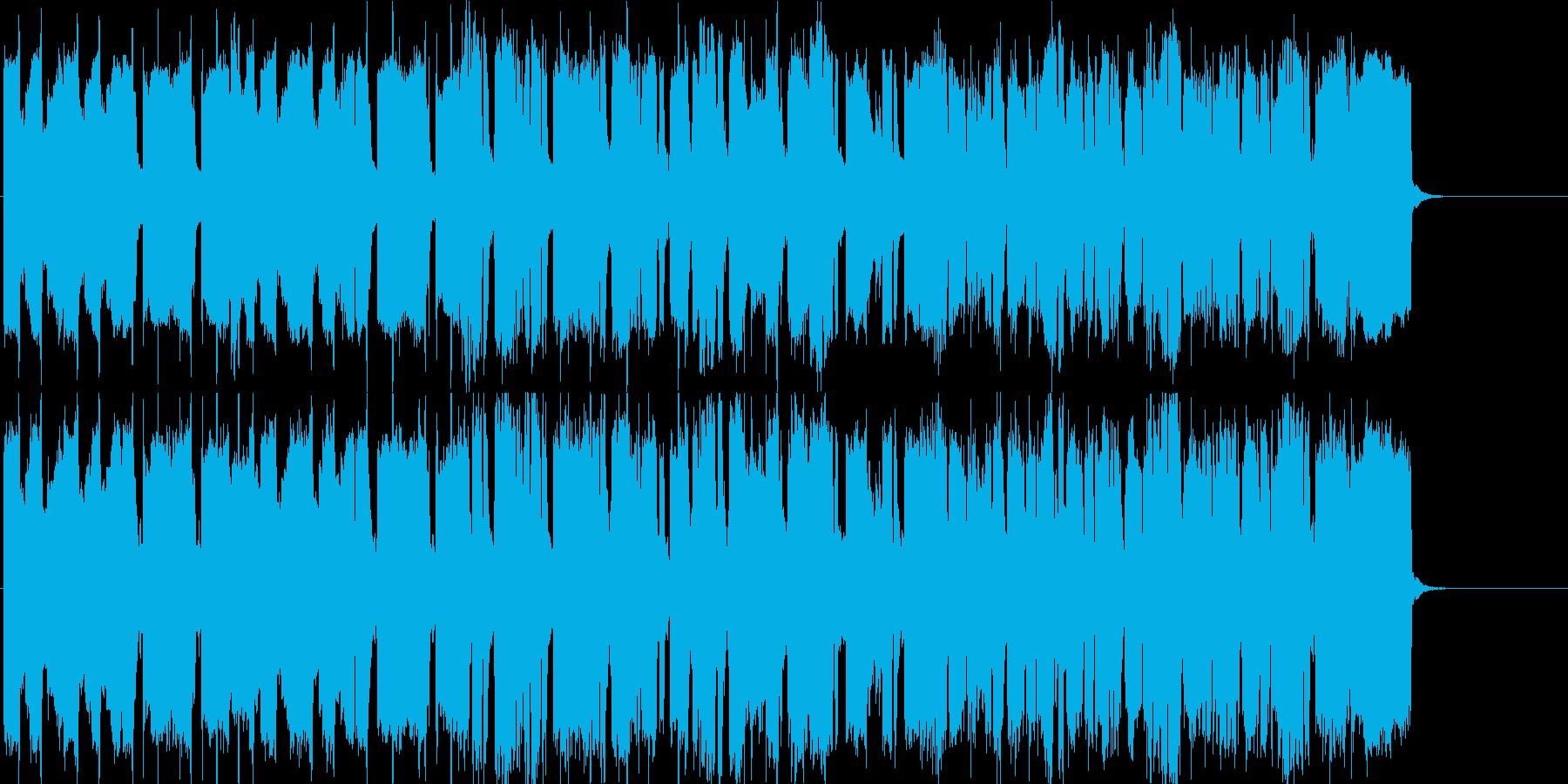 さわやか  昼さがり 情報 空の再生済みの波形