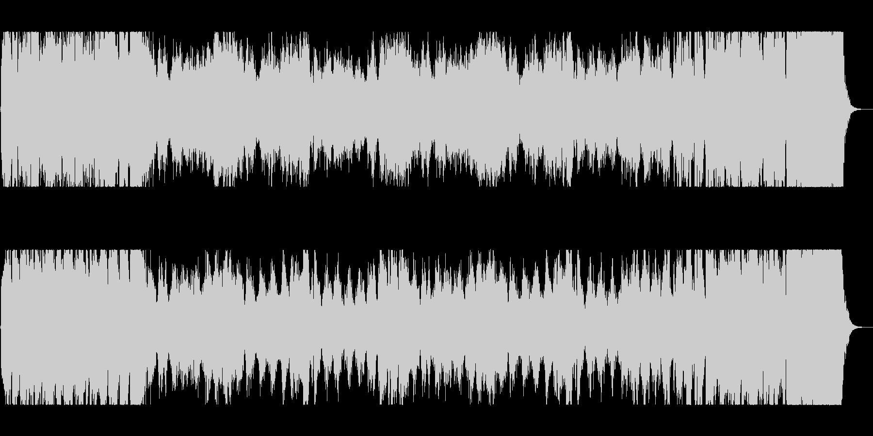 迫力と盛大な管弦楽器シンセサウンドの未再生の波形