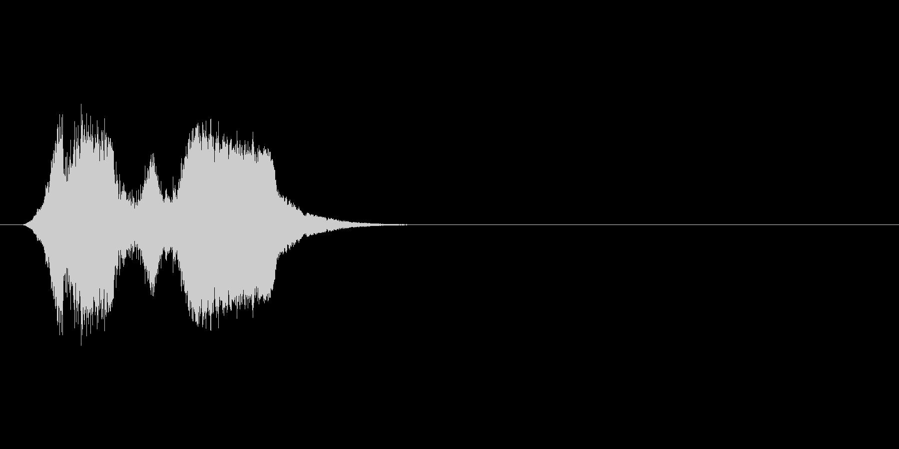 ピュイピュイッ!?(モンスター鳴き声普)の未再生の波形
