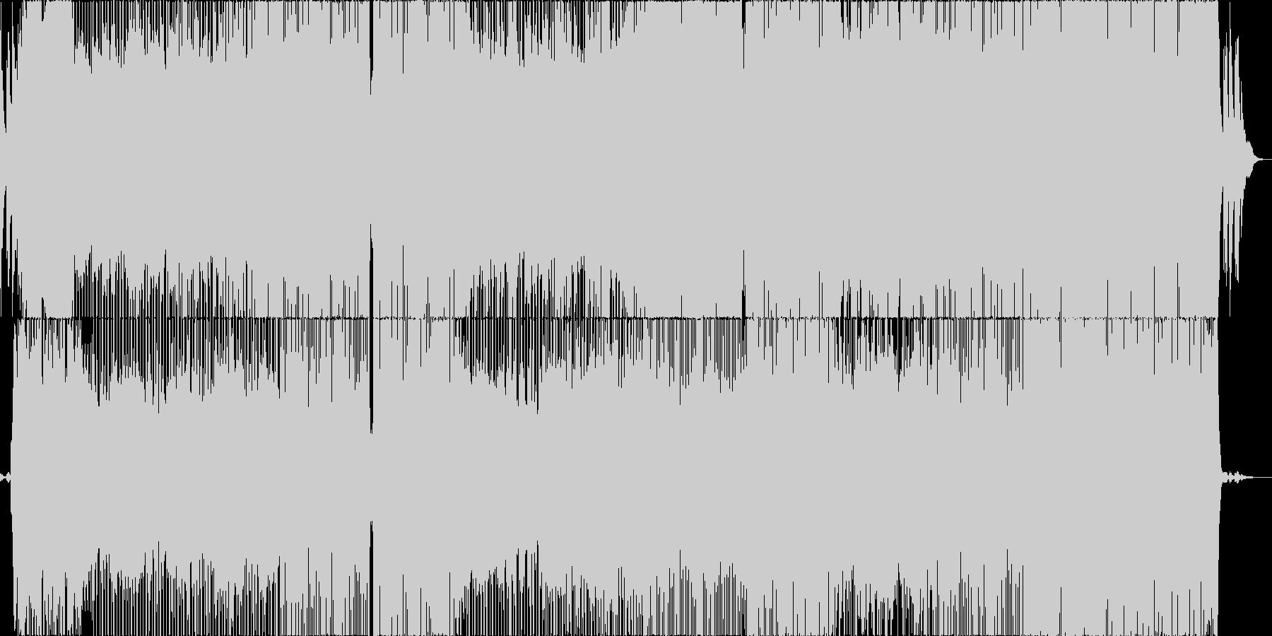 またここから歩き出そう的なバラードの未再生の波形