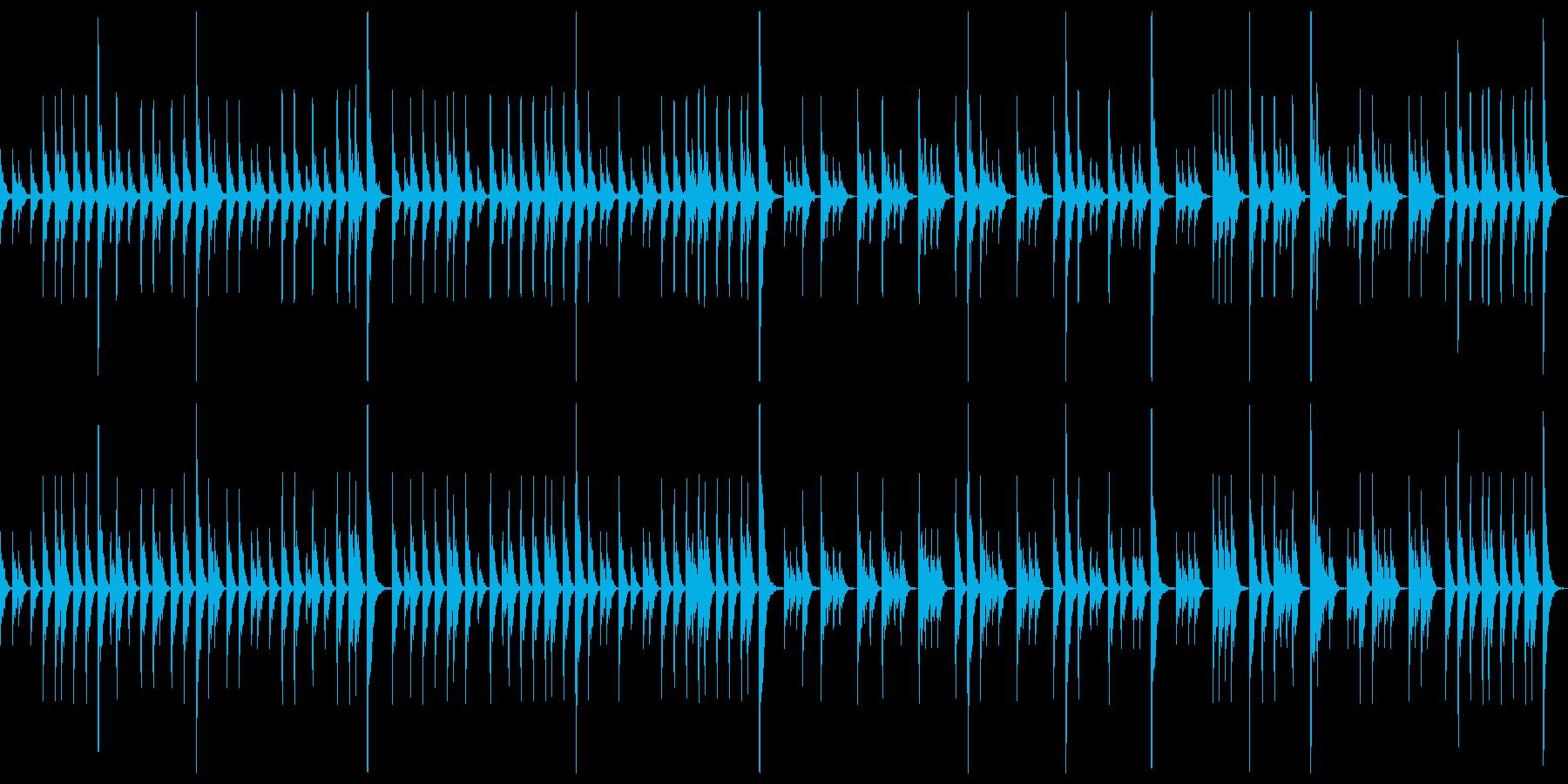 締太鼓ソロ スローの再生済みの波形