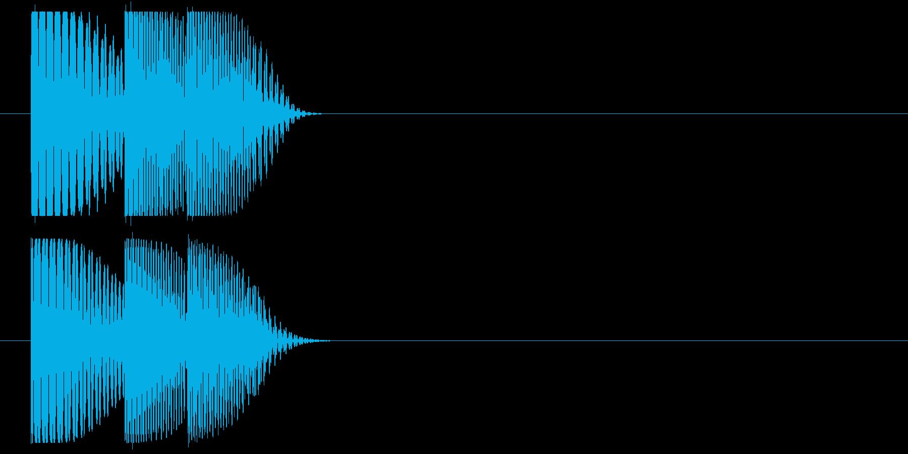 ドゥンドゥドンの再生済みの波形