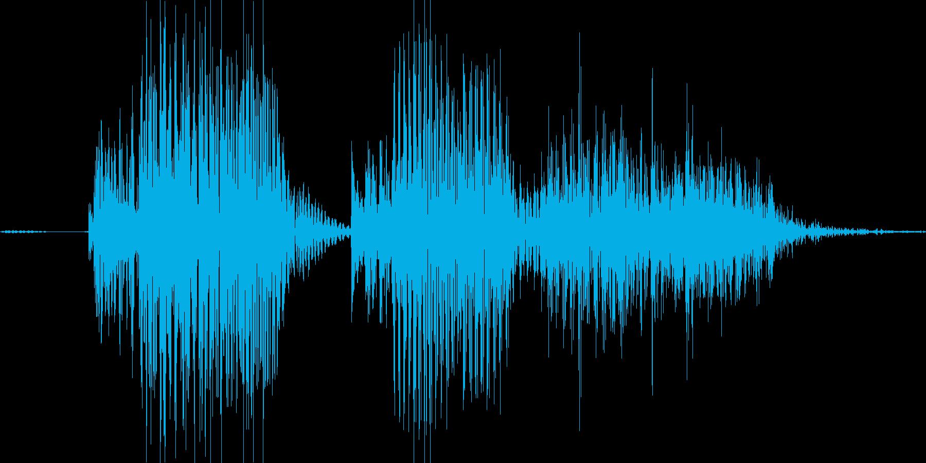 ばかな!の再生済みの波形