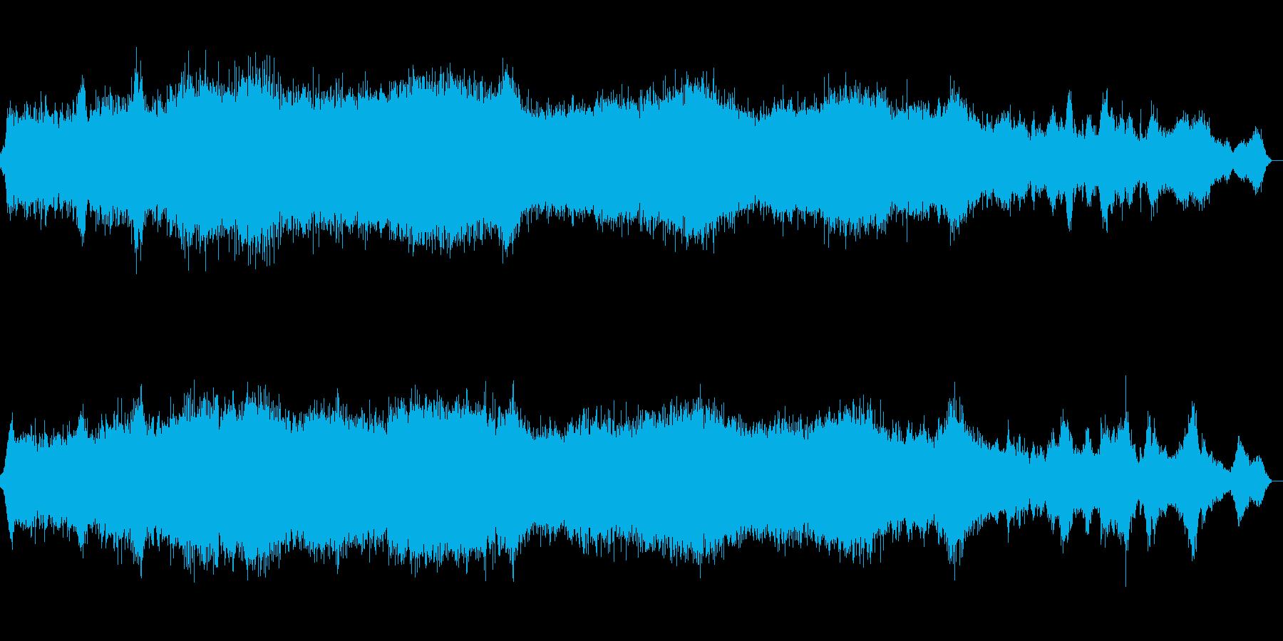 ダークなホラードローンの再生済みの波形