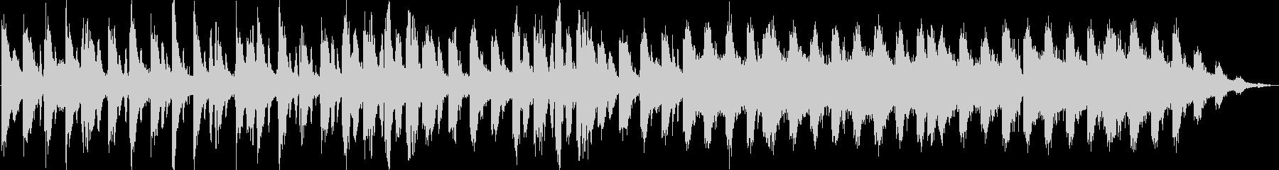 四つ打ちのシンセ系 JAZZ風な響きの未再生の波形