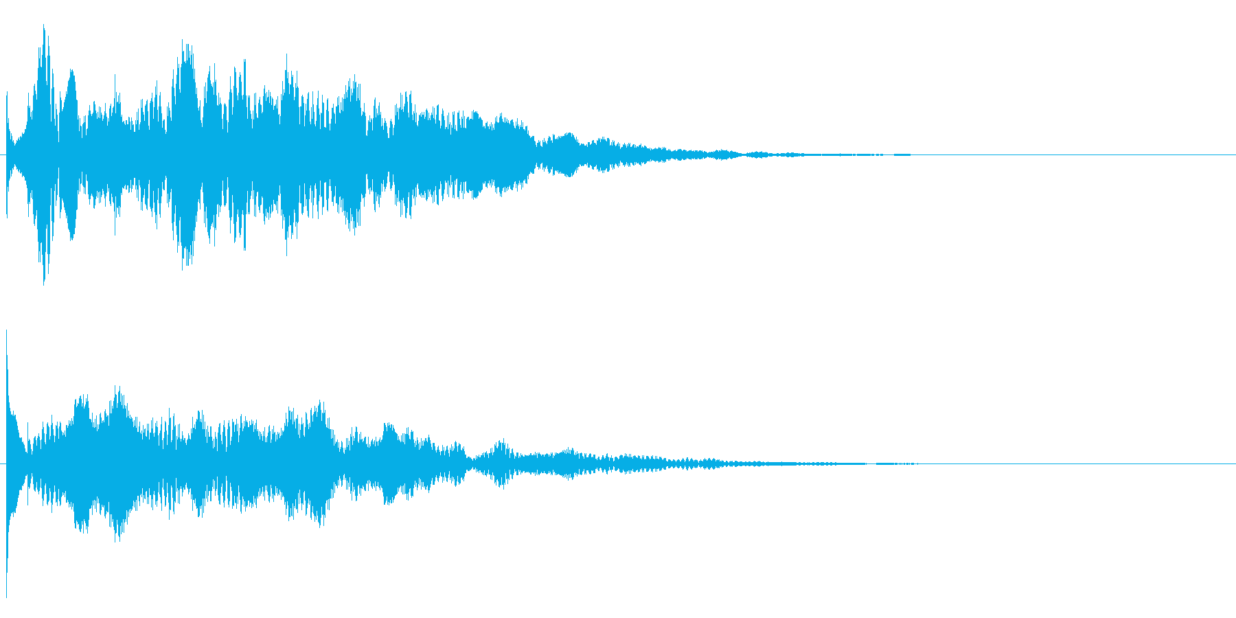 ティポリ~ンの再生済みの波形