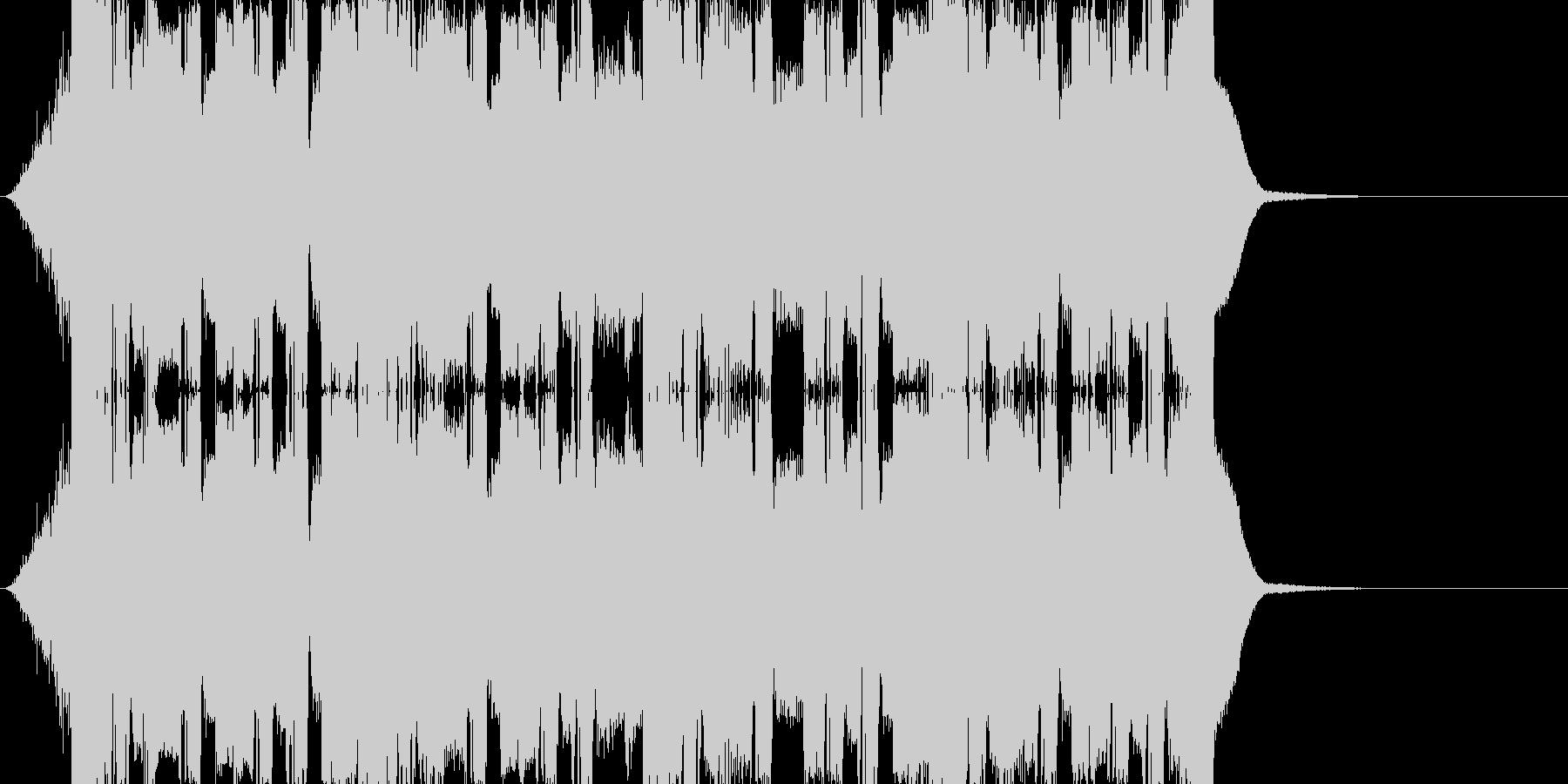 ゆったりテクノ/少し長めのエンドSEの未再生の波形