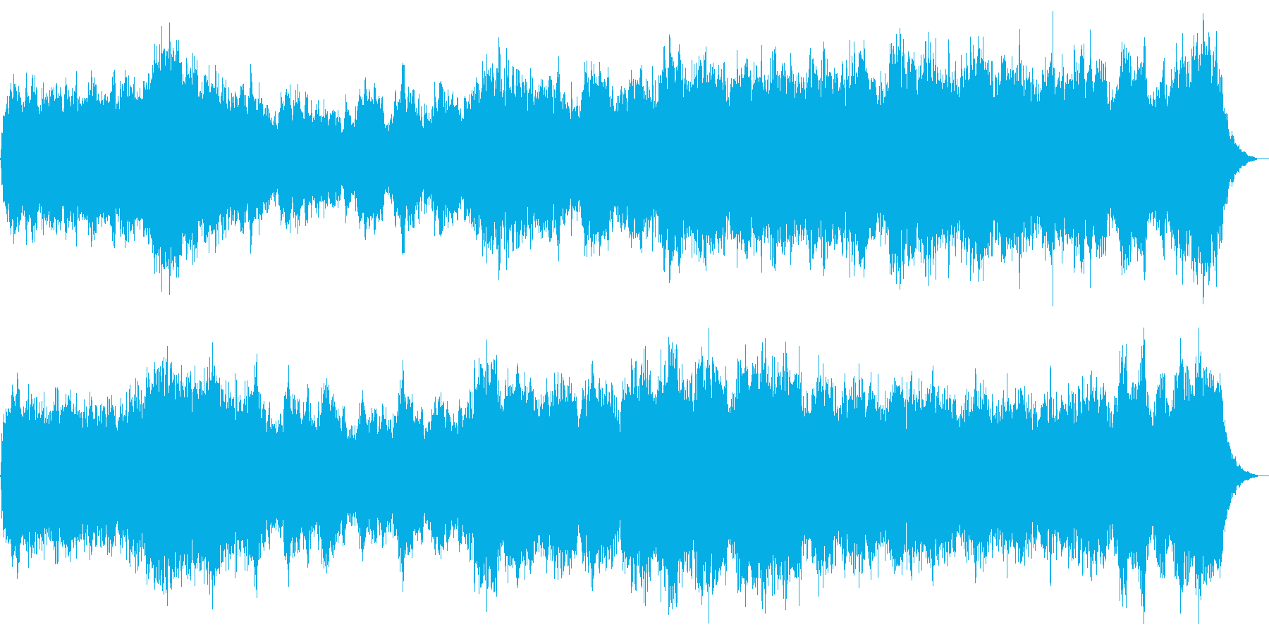 ハロウィンナイト ホラーなオープニングの再生済みの波形