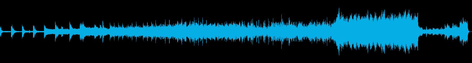 映画音楽風(物語を感じる)切ない曲の再生済みの波形