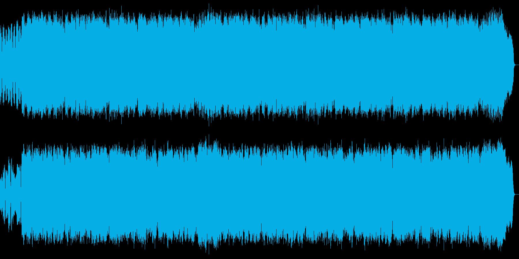 語り諭すような旋律をサックスが奏でますの再生済みの波形