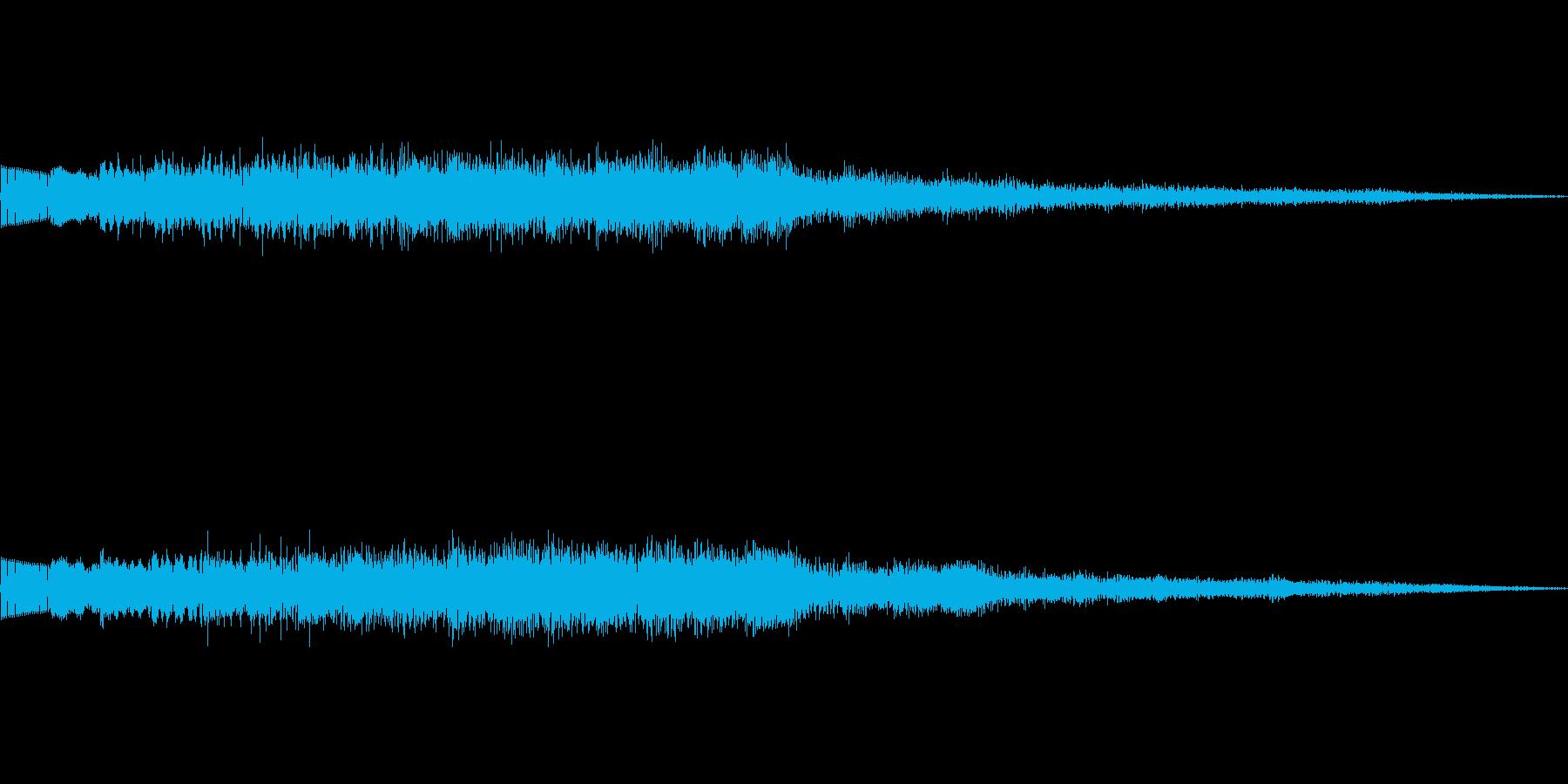 不思議系上昇音 魔法呪文回復混乱 01の再生済みの波形