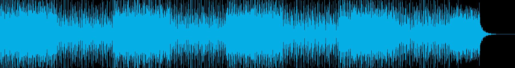 おしゃれなチルアウトBGMの再生済みの波形