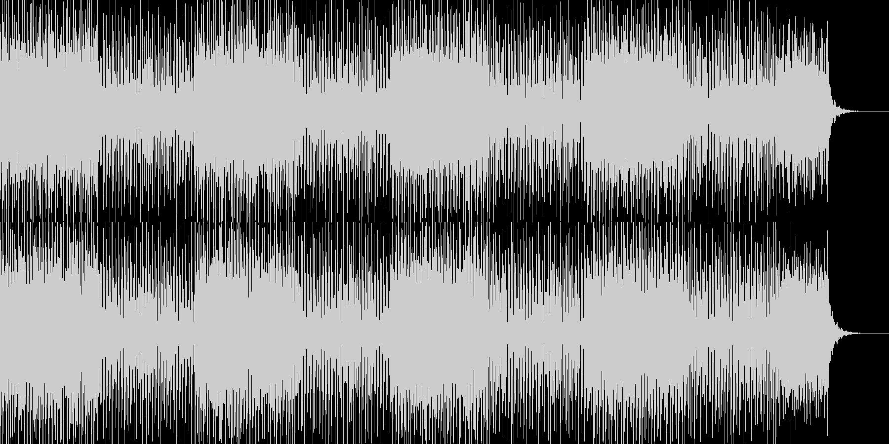 おしゃれなチルアウトBGMの未再生の波形