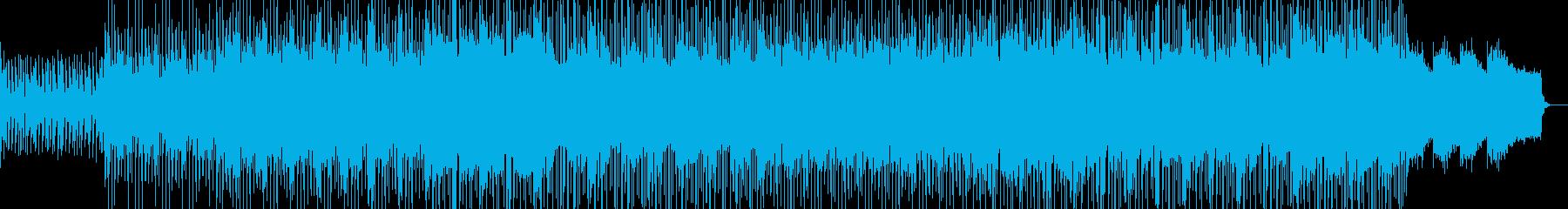 ギターメロディがさわやかなBGMの再生済みの波形