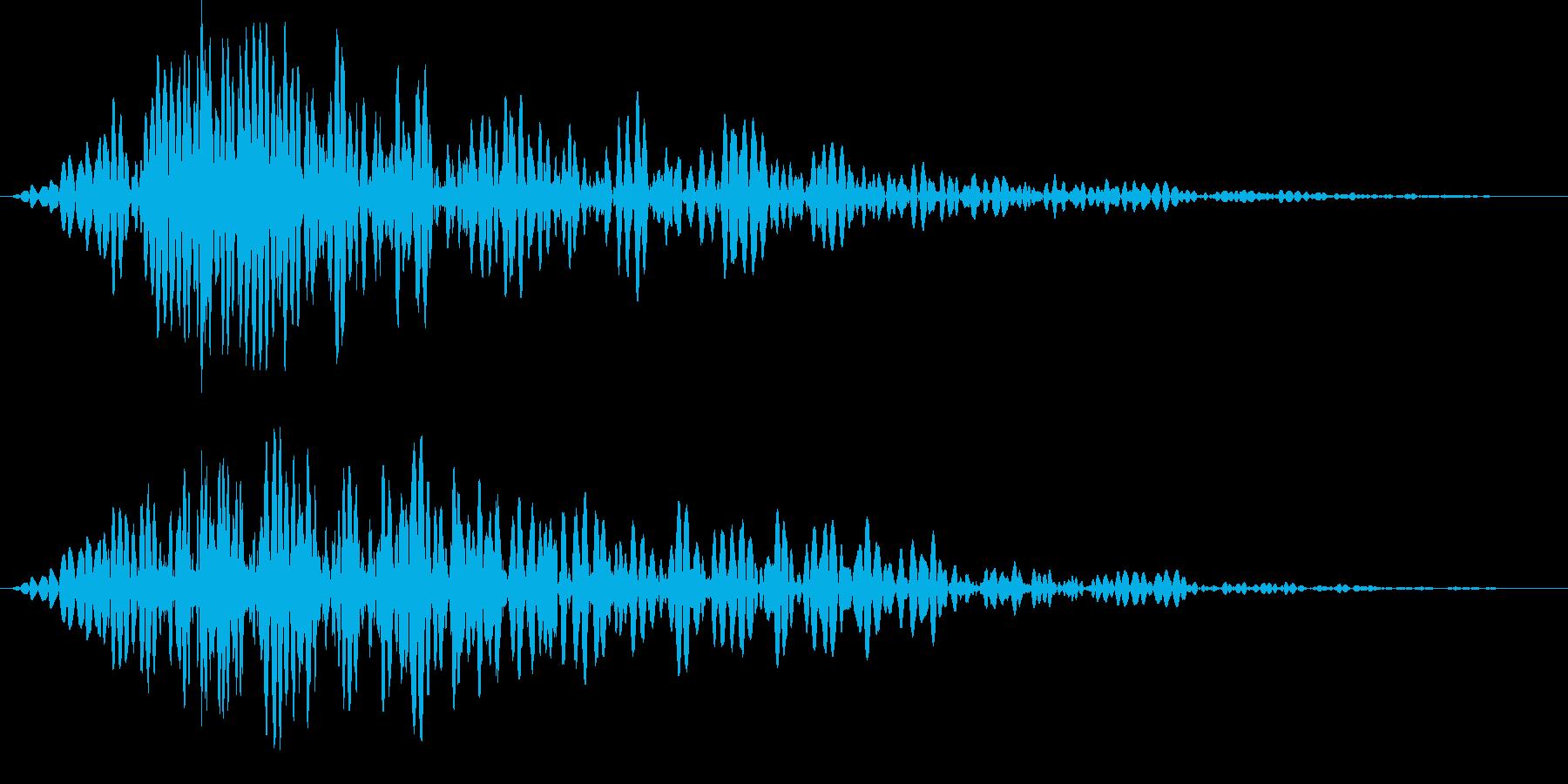 ドン(タイトル、予告等)の再生済みの波形