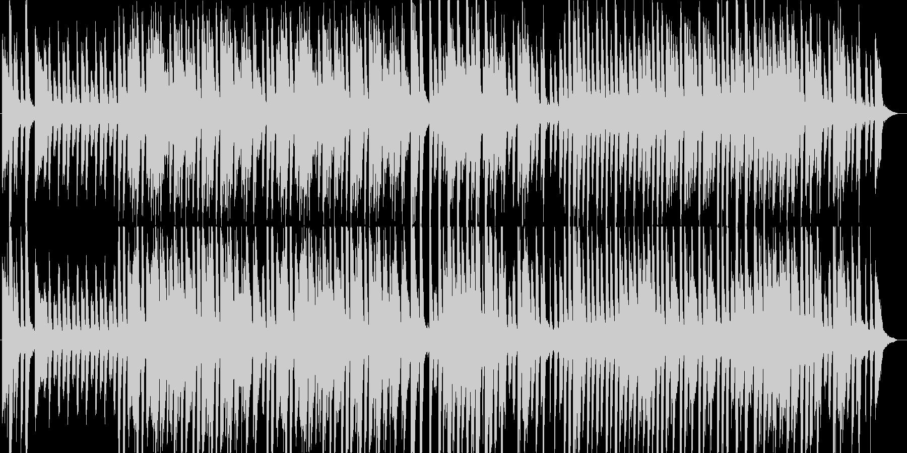 サーカスで流れてそうなコミカルな曲の未再生の波形