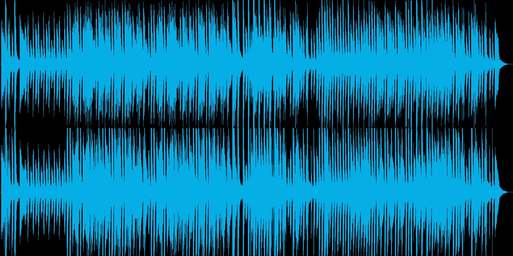 サーカスで流れてそうなコミカルな曲の再生済みの波形