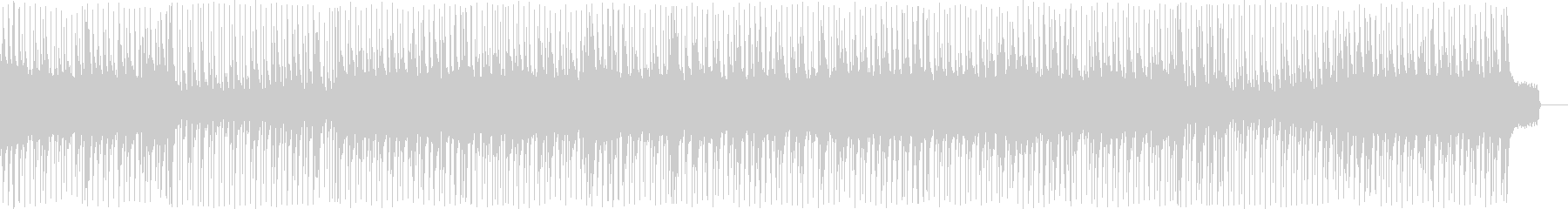 ピアノメインの旅立ちの切ないポップの未再生の波形