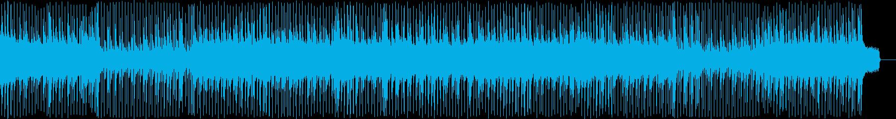 ピアノメインの旅立ちの切ないポップの再生済みの波形