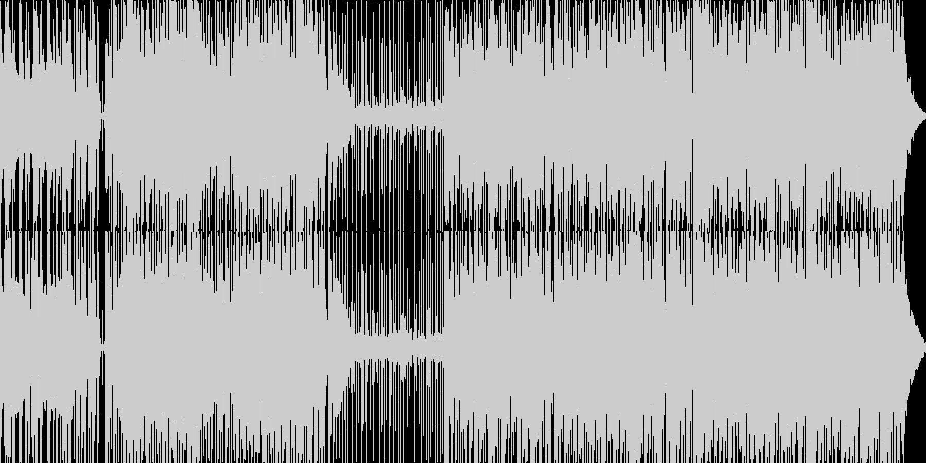威風堂々/ボサノバアレンジの未再生の波形