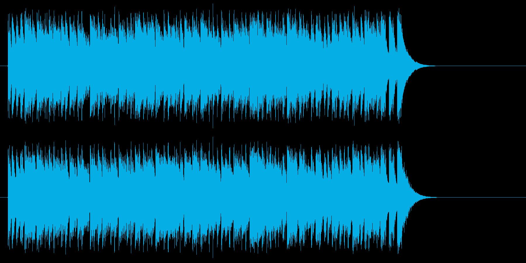 ファイト1発!元気サウンドの再生済みの波形