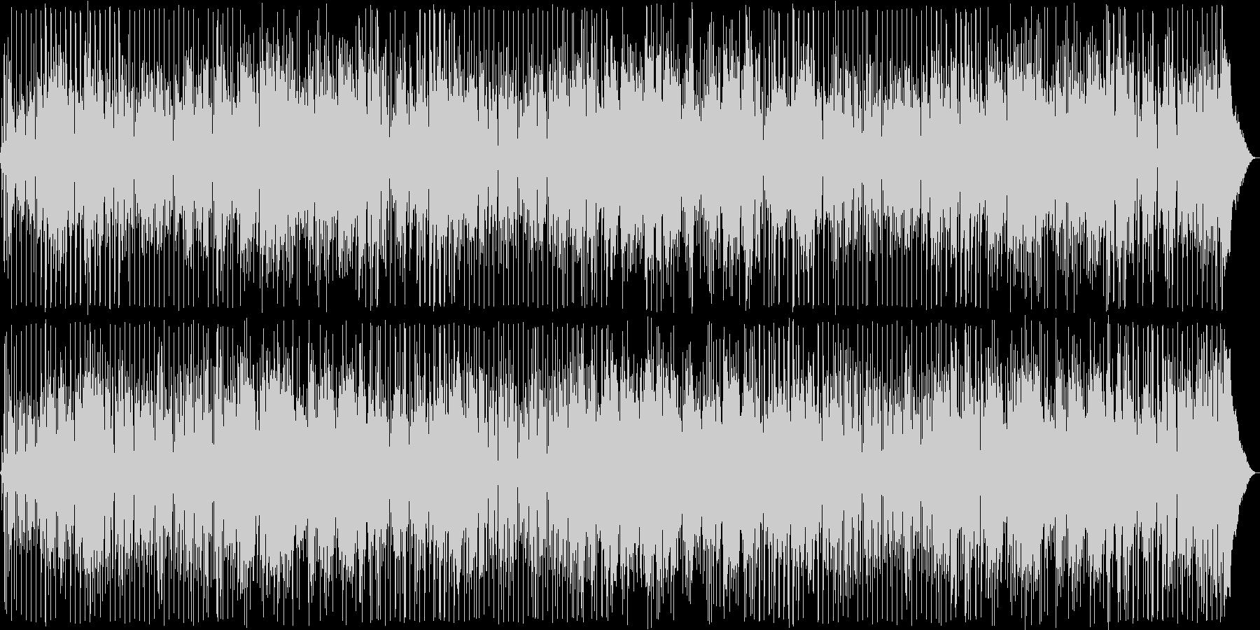 アコギの落ち着いたムードある曲の未再生の波形