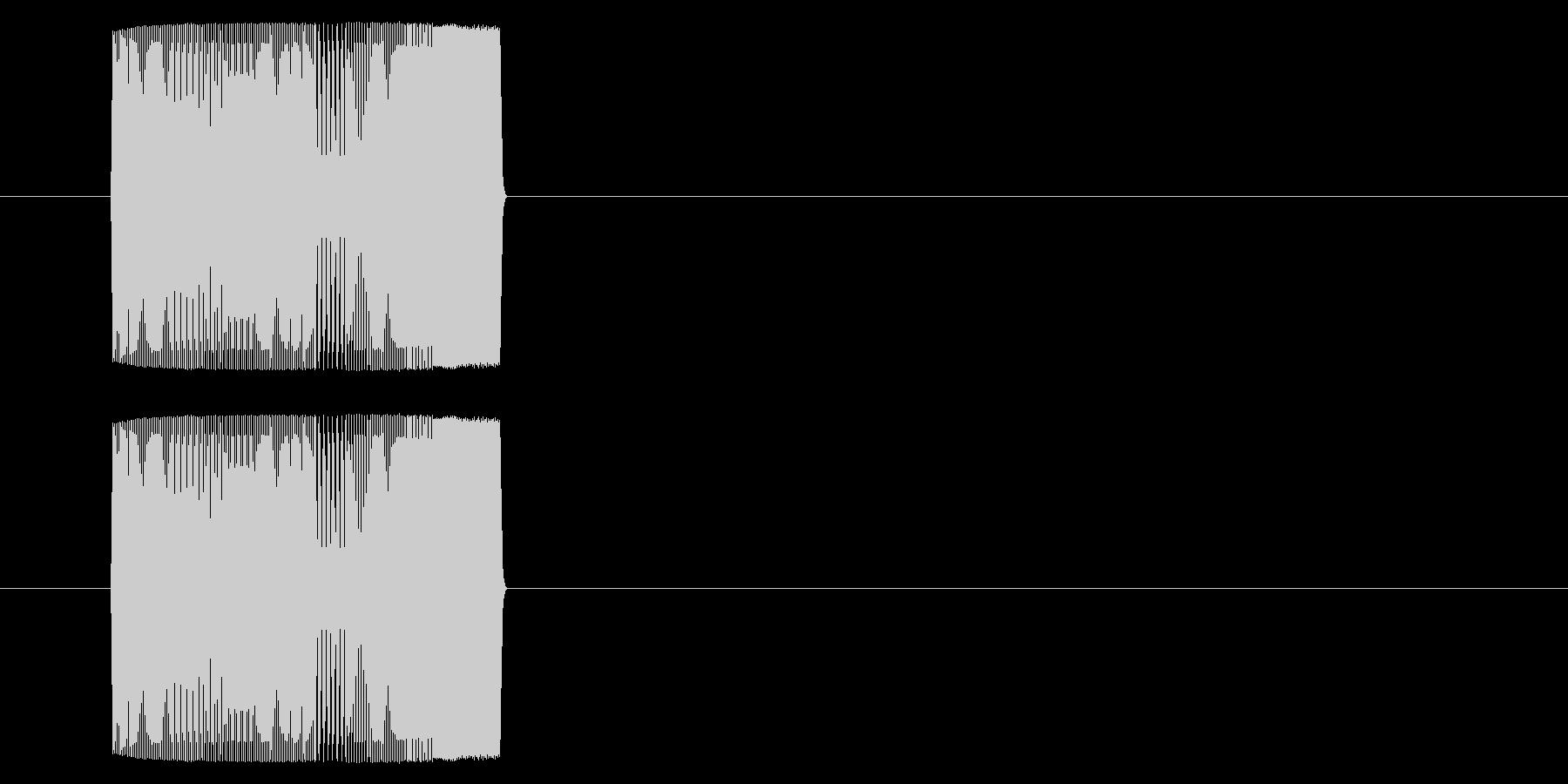 【アーケード 汎用01-12(ピッチ)】の未再生の波形
