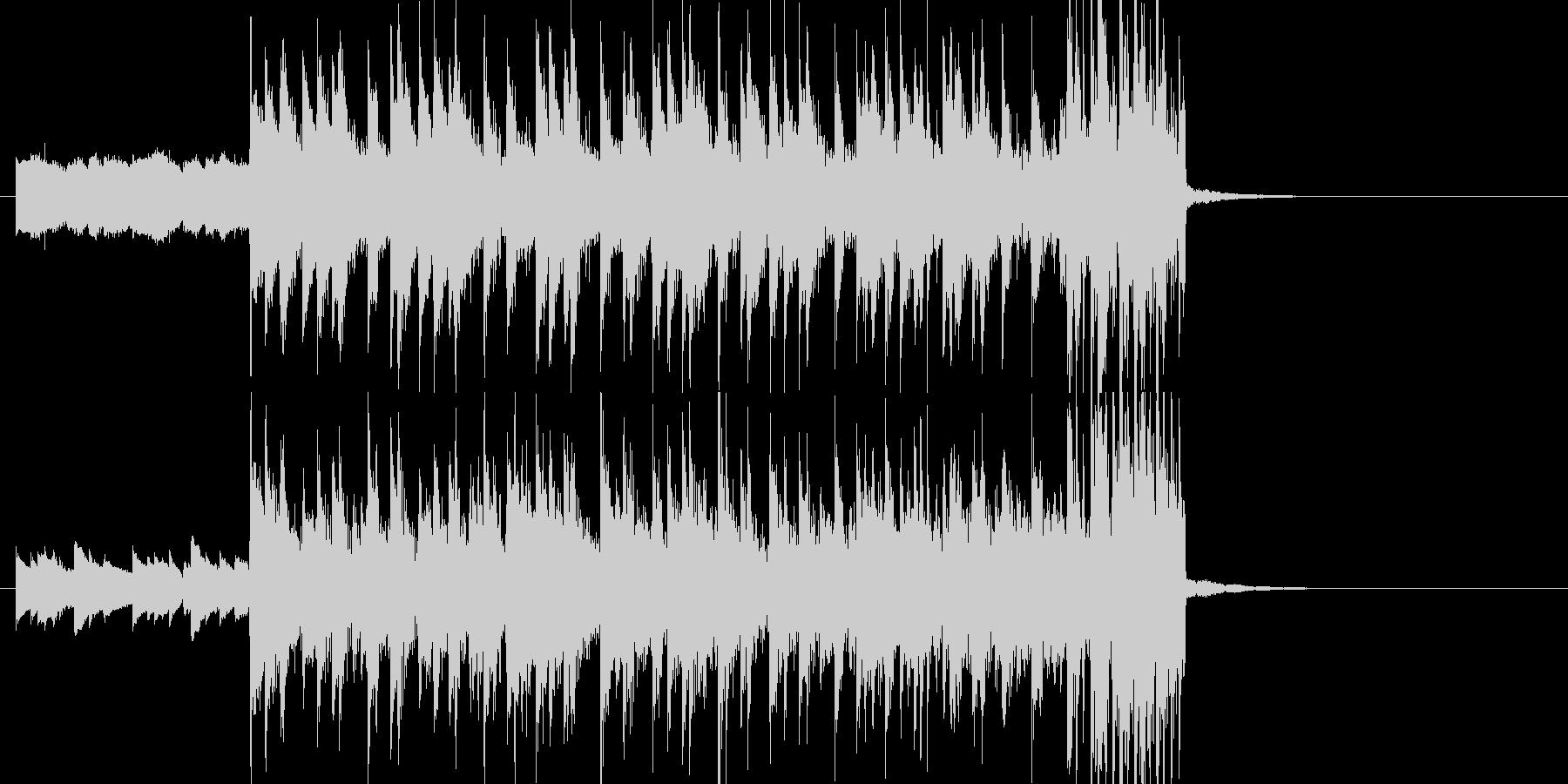 テンポ123★インパクトのあるジングルの未再生の波形