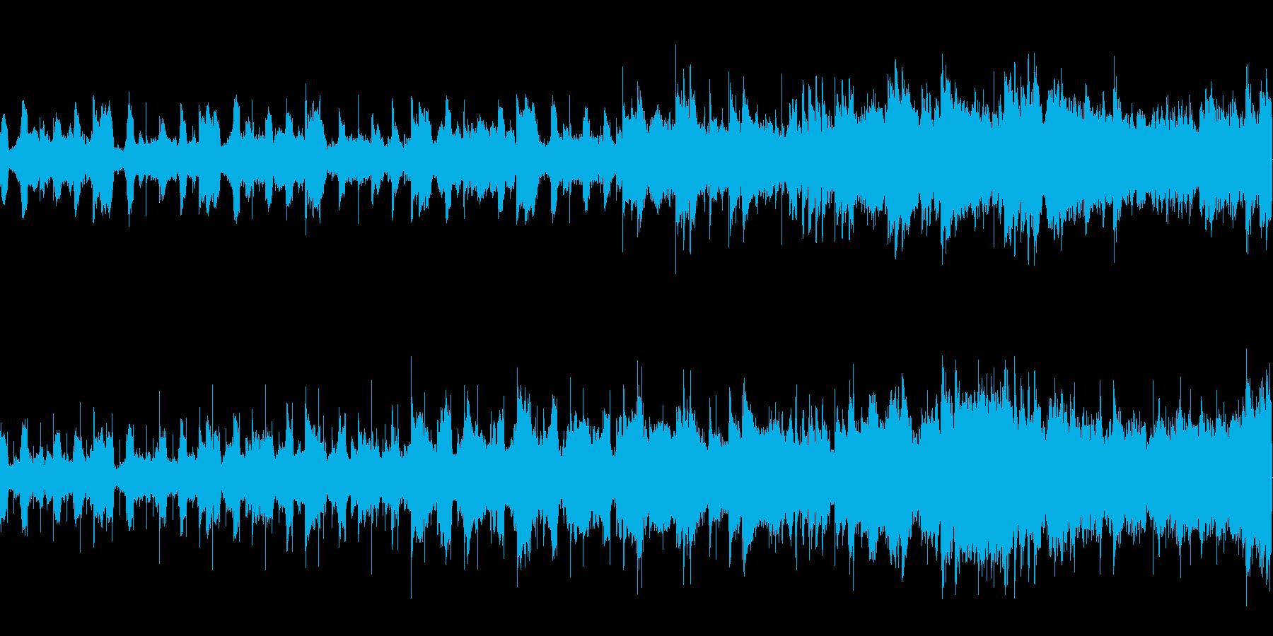 静かなフィールドをイメージして制作しま…の再生済みの波形