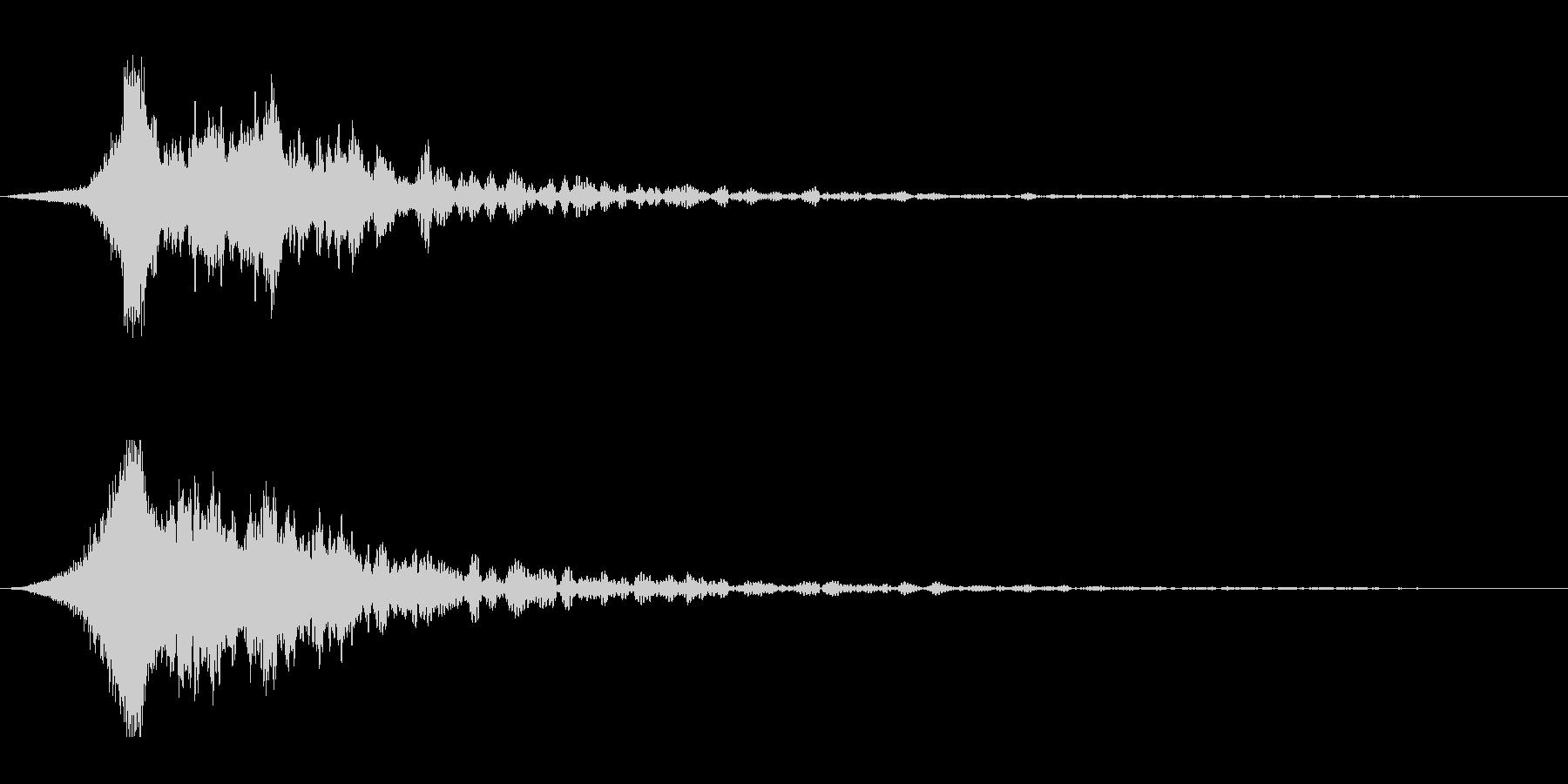ホラー系アタック音81の未再生の波形