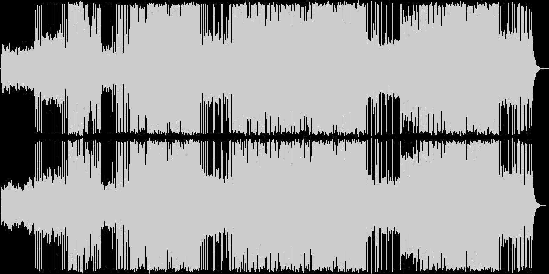 Trap/北欧ぽい/ハウス/ワブルベースの未再生の波形