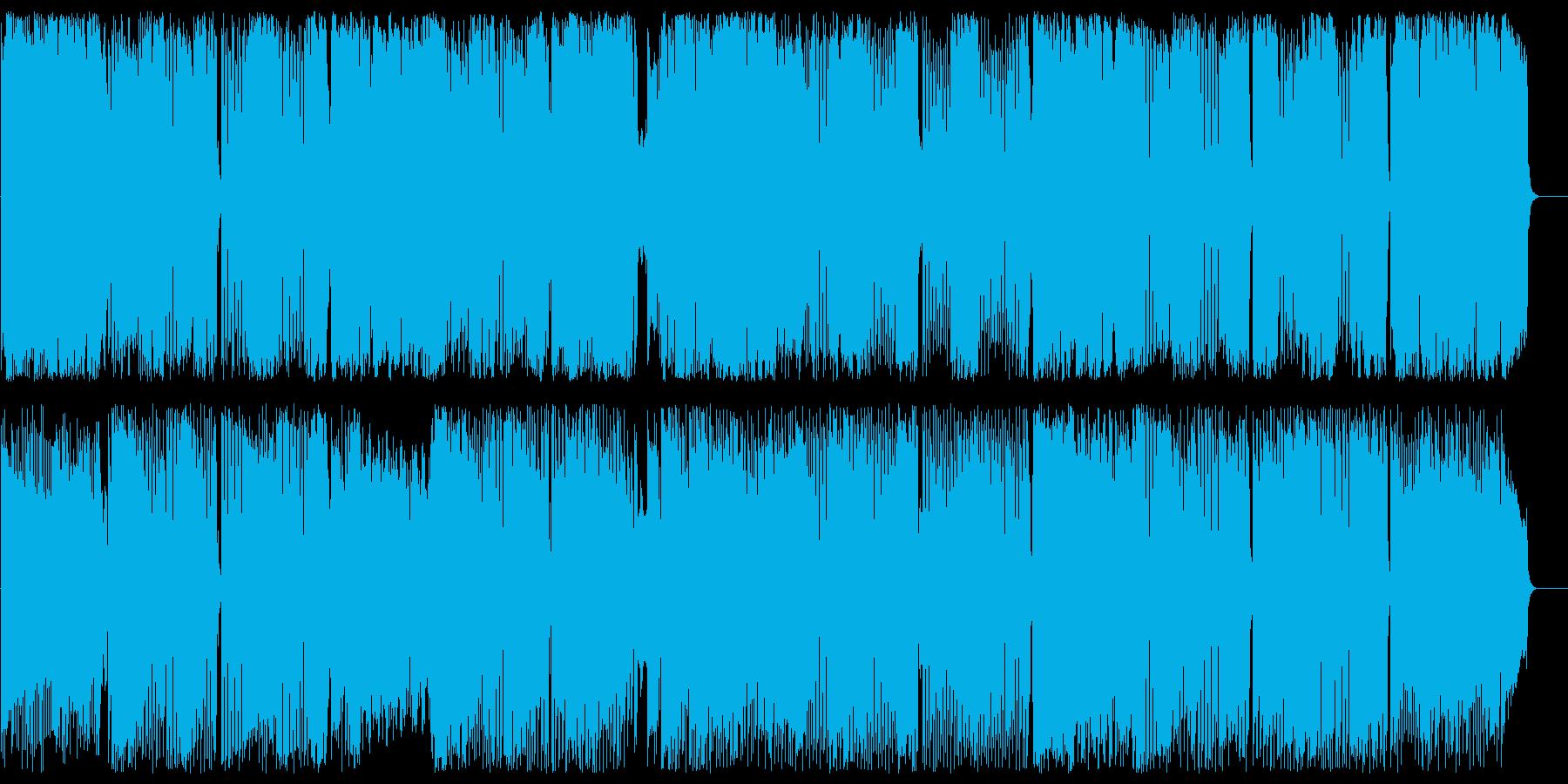 哀愁のバロック調イージーリスニングの再生済みの波形