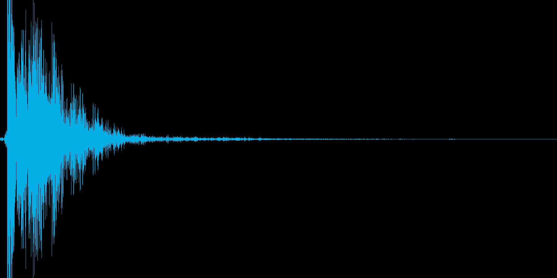 リアル系 ハンドガン1(発砲音) バンの再生済みの波形