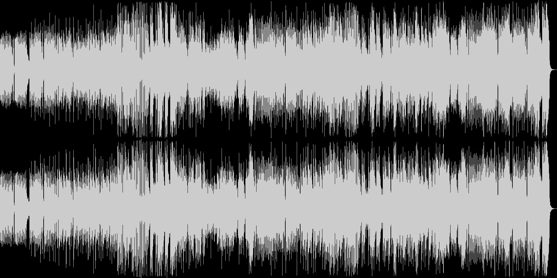 8bit ダークでメルヘンチックなBGMの未再生の波形