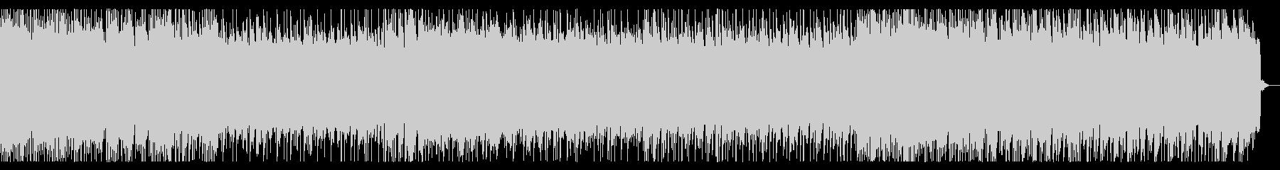 戦闘シーン向けリフ主体のメタル 戦闘曲の未再生の波形