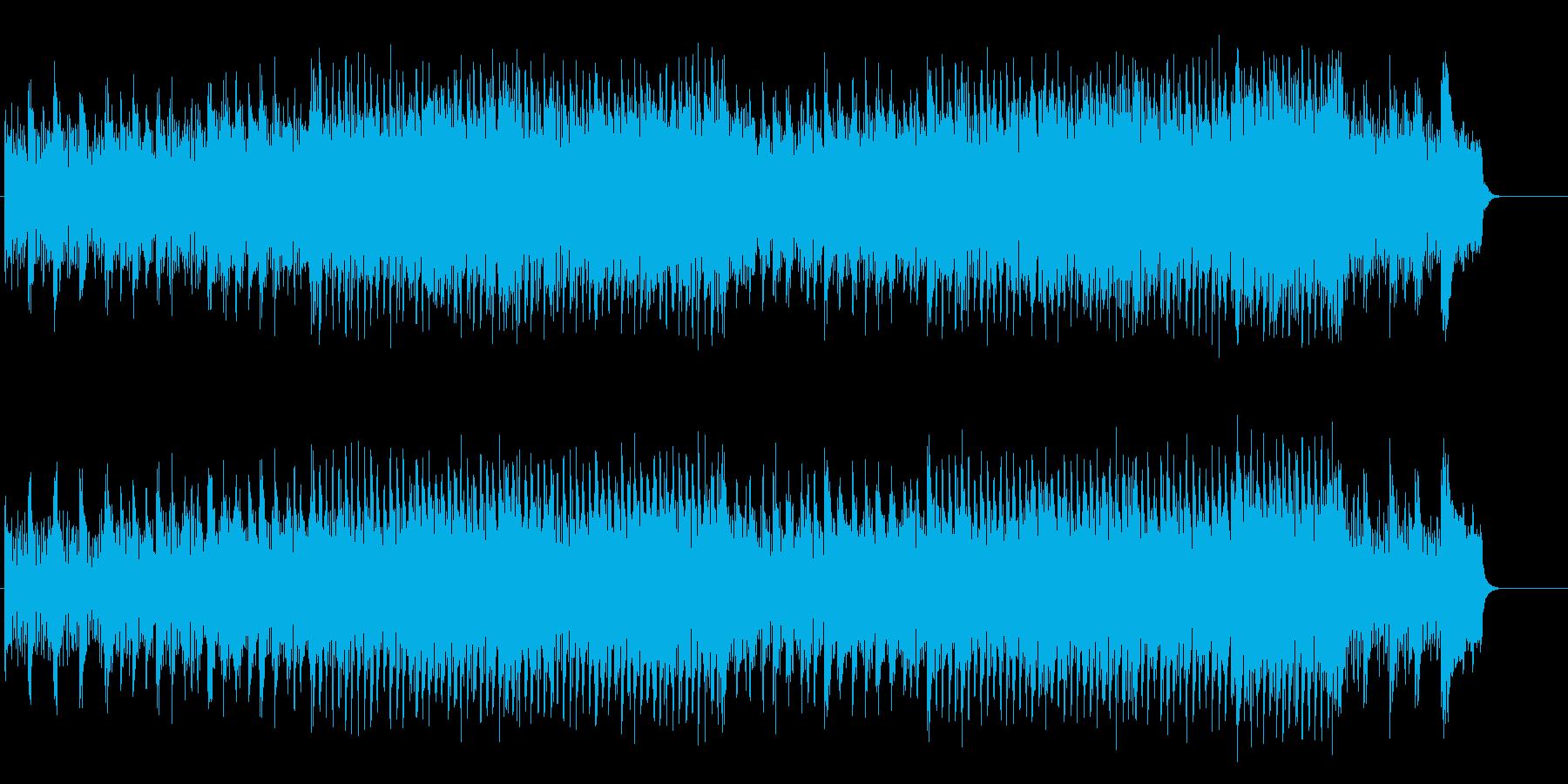 クラシカルなチャイルド・ミュージックの再生済みの波形