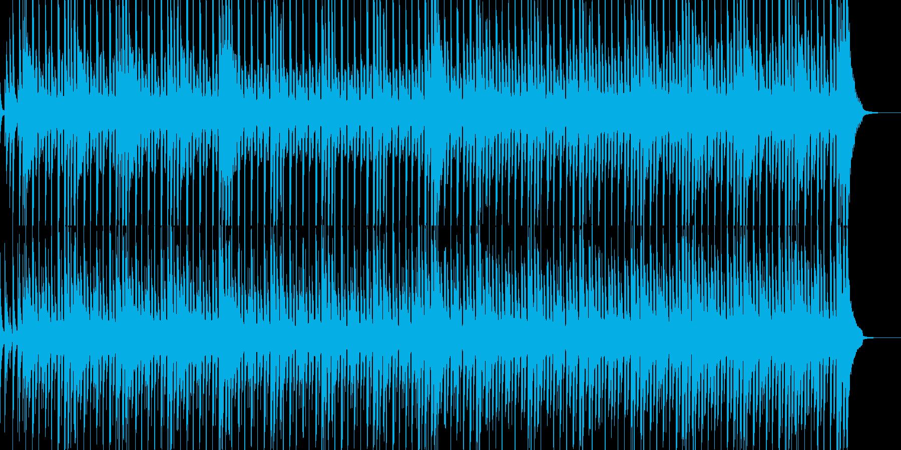 明るくほのぼのしたBGMの再生済みの波形